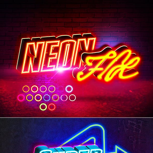 Neon Sign Styles V4