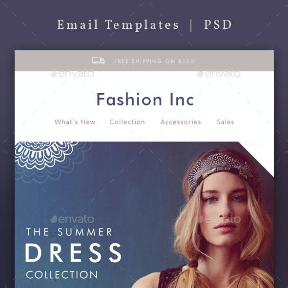 Modern Fashion - Email Template