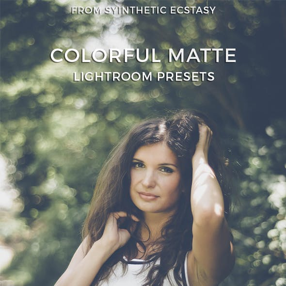 Colorful Matte Lightroom Presets