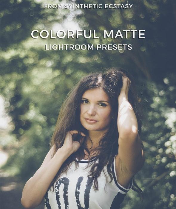 Colorful Matte Lightroom Presets - Vintage Lightroom Presets