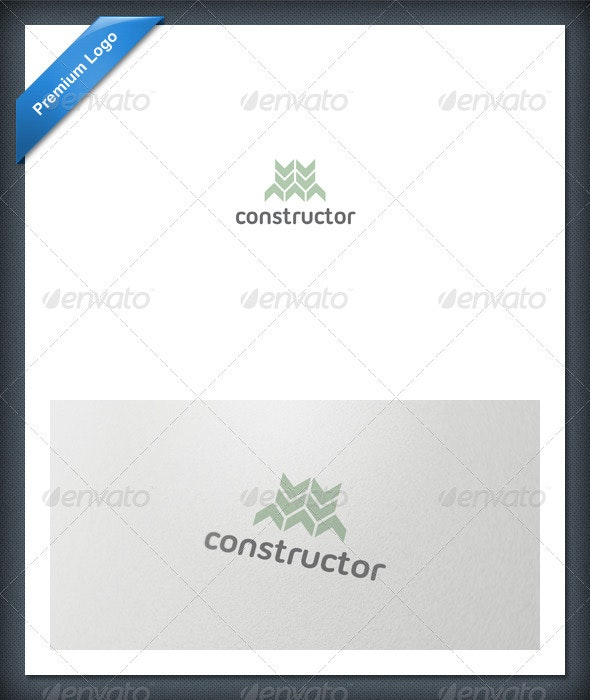 Abstract Constructor Logo Template