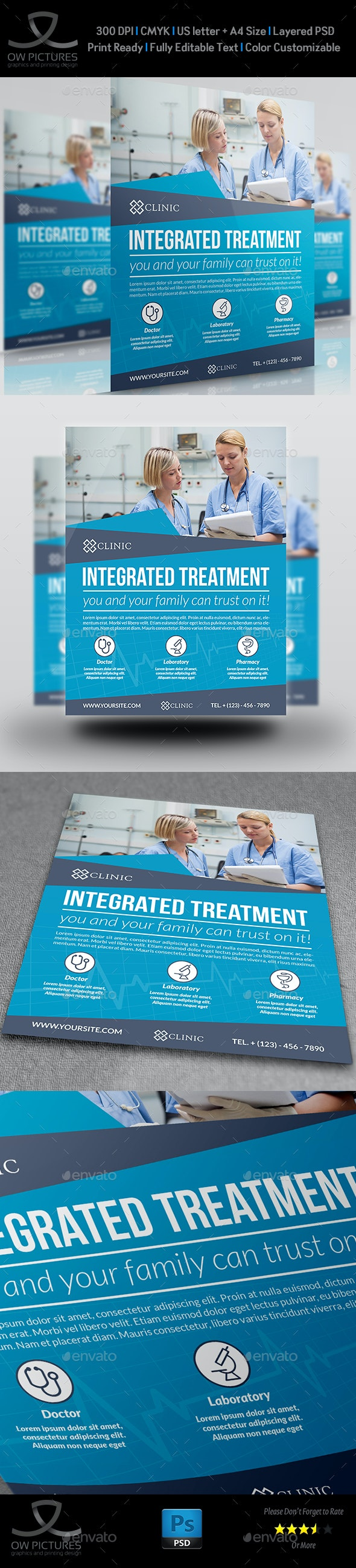 Medical Flyer Template - Flyers Print Templates