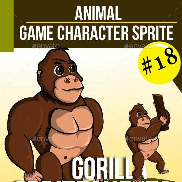 Game Asset : Gorilla