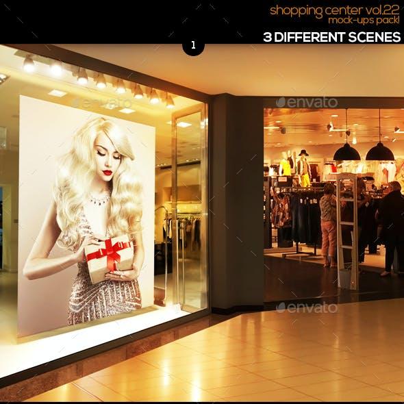 Shopping Center Vol.22 Mock Ups Pack