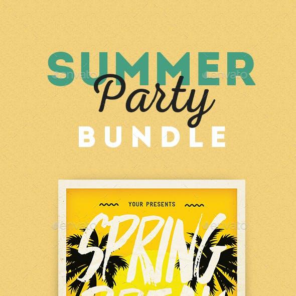 Summer Event Flyer Bundle