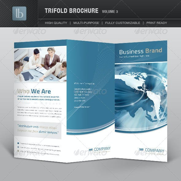 Trifold Brochure | Volume 3