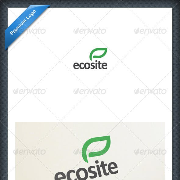 Eco and Green Logo Template