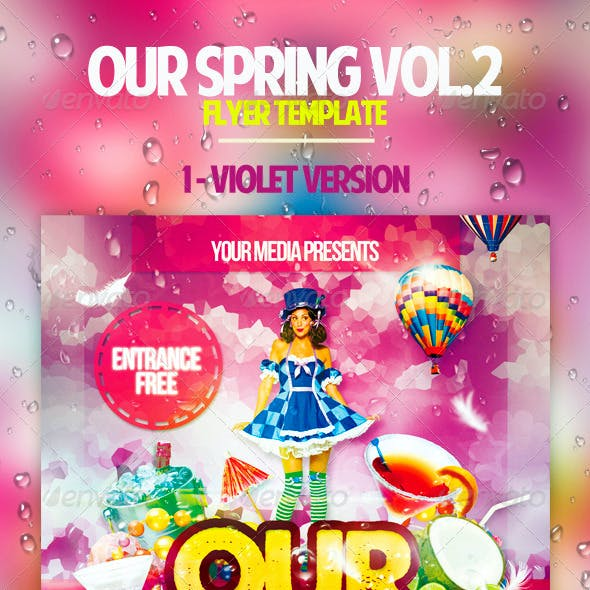 Our Spring Vol.2 Flyer Template