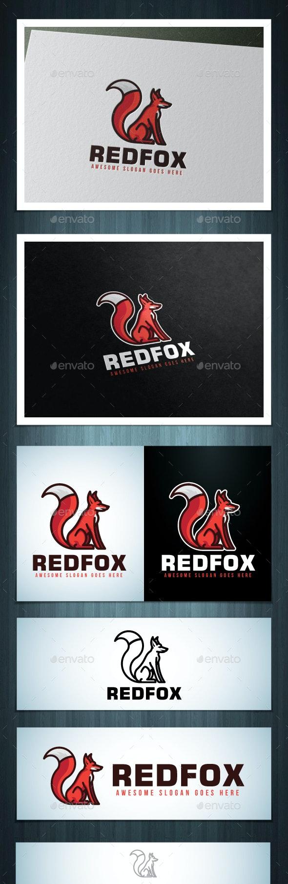 Redfox Logo - Animals Logo Templates