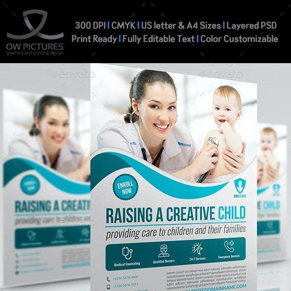 Pediatrician Flyer Template
