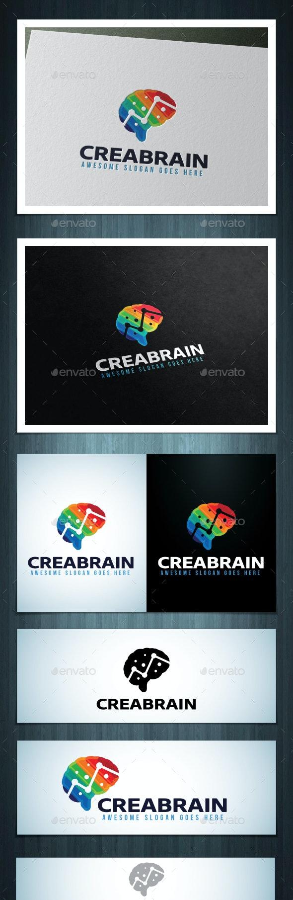 Creabrain Logo - Vector Abstract