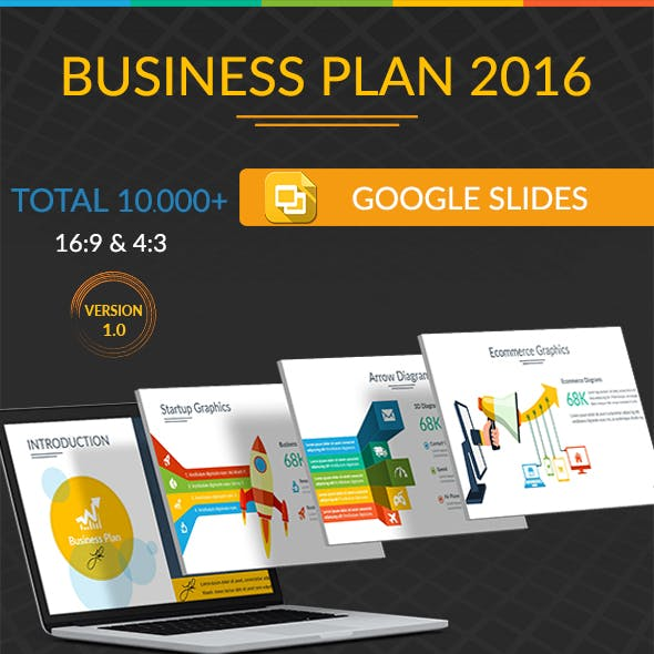Business Plan 2016 Google Slide Template