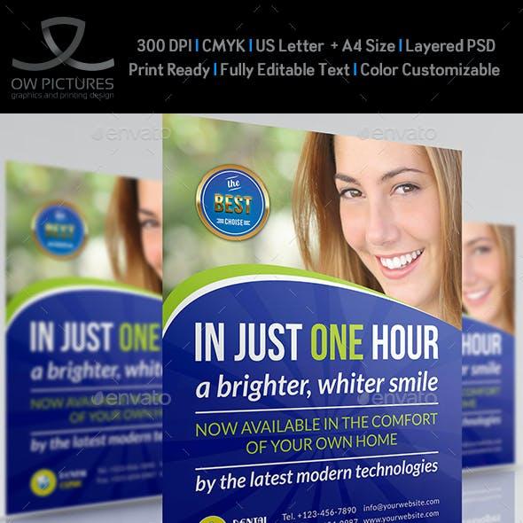 Dental Clinic Flyer Vol.2 Template