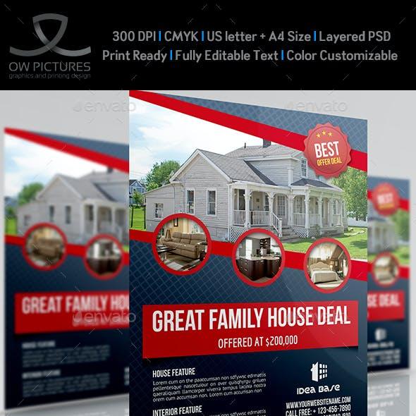 Real Estate Flyer Template Vol.12