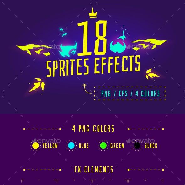 18 Sprite Effects