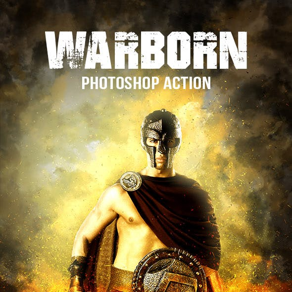Warborn Photoshop Action
