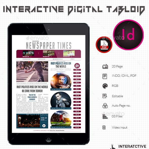Interactive Digital Tabloid