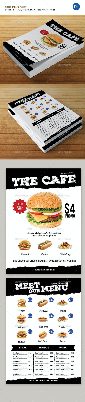 Food Menu - Restaurant Flyers