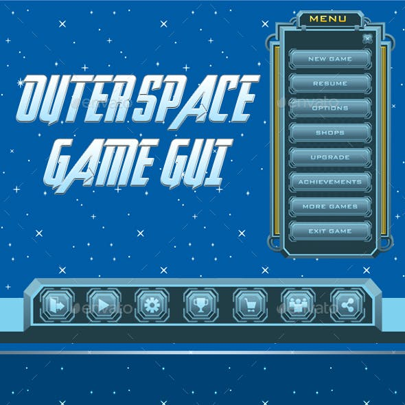 Outerspace Game GUI