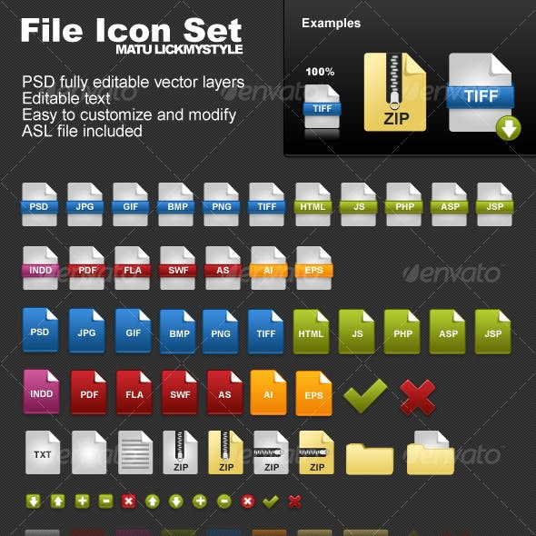 File Icon Set