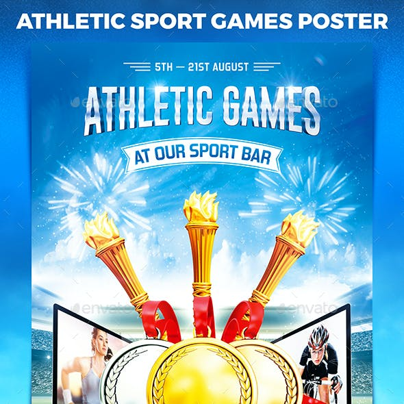Athletic Games Poster