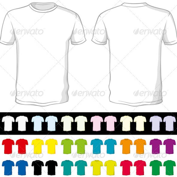 Vector Blank Shorts of a Different Color