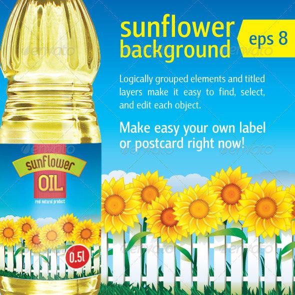 Sunflowers - Nature Conceptual