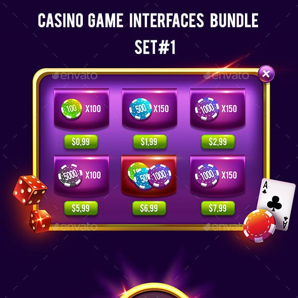 Casino Game Interface Bundle