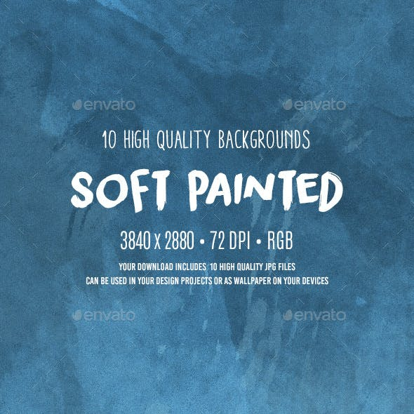 Soft Painted Backgrounds