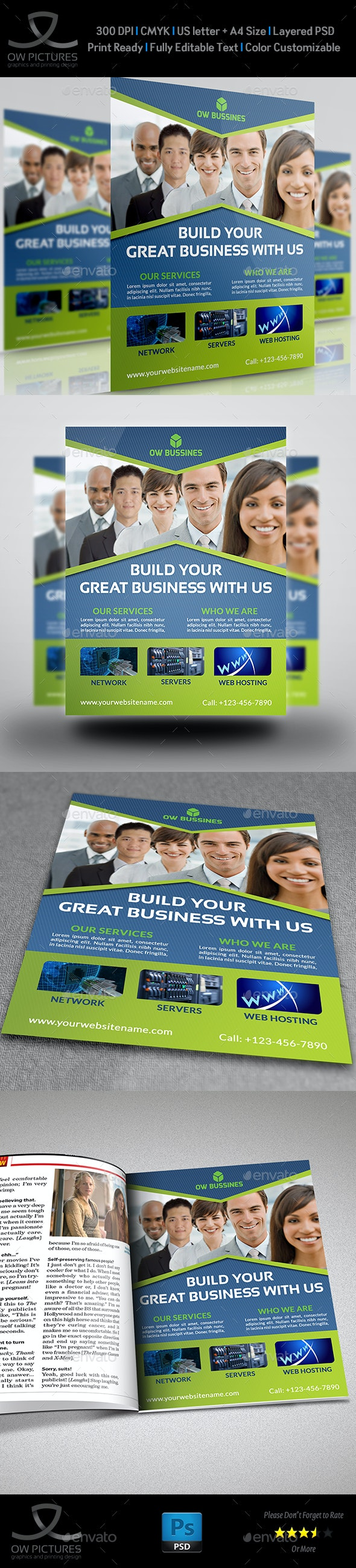 Corporate Business Flyer Template Vol.17 - Corporate Flyers