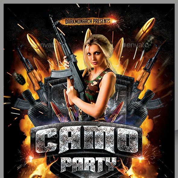 Camo Party