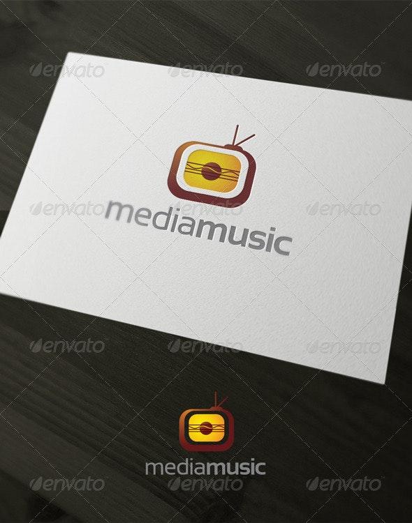 Media music - Vector Abstract