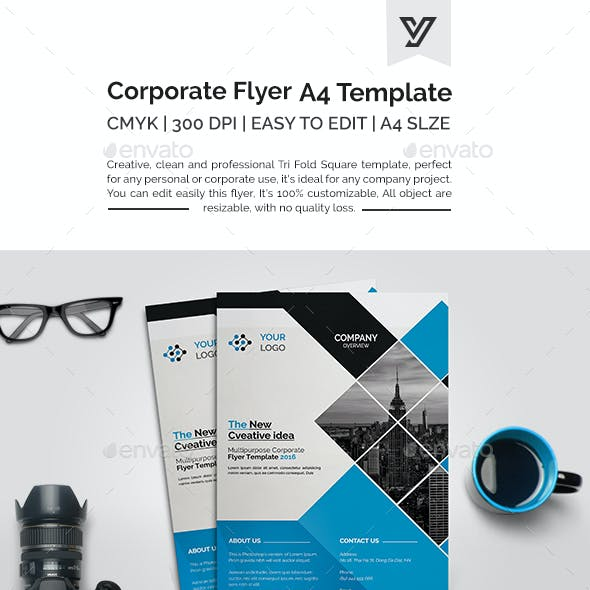 A4 Corporate Flyer 07