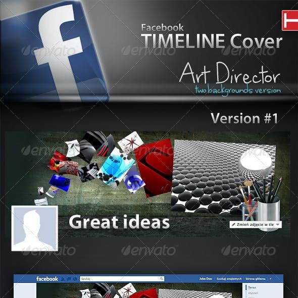 Facebook Timeline Cover   Art Director