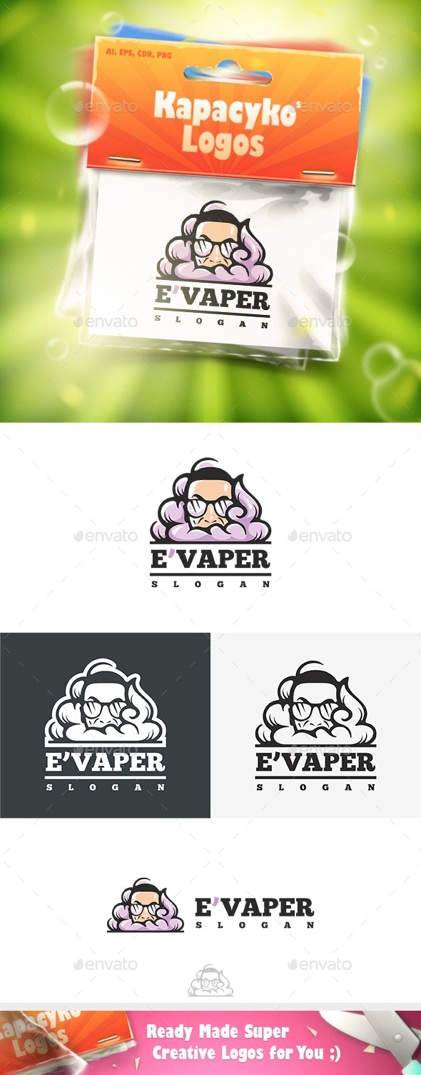 E'Vaper Logo - Humans Logo Templates