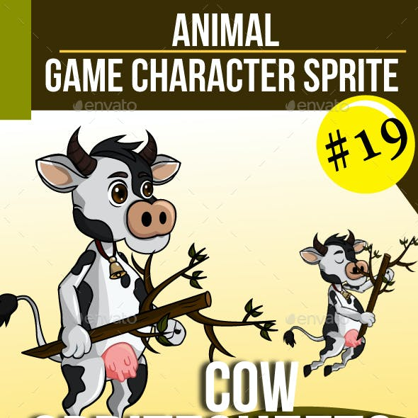 Game Asset : Cow