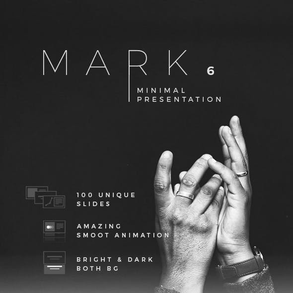 Mark06 - Minimal Keynote Template