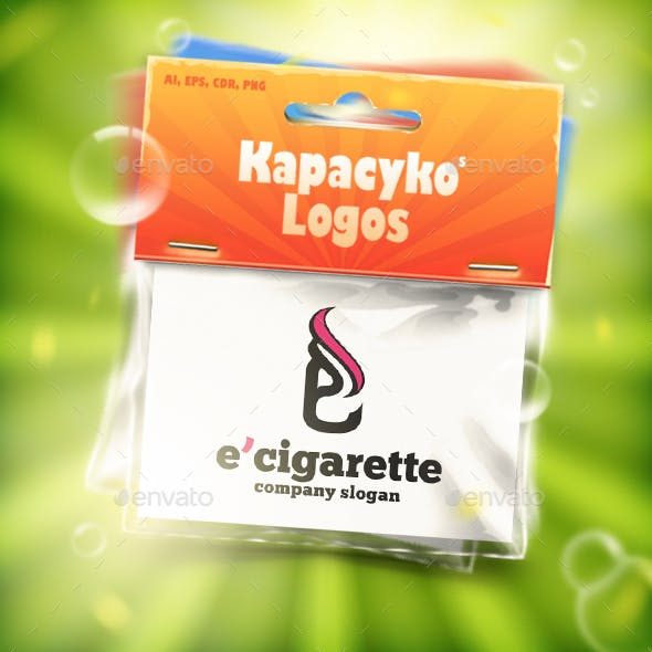 E Cigarette Logo