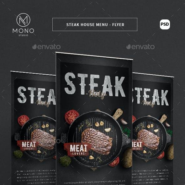 Steak House Roll Banner