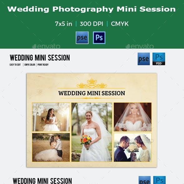 Wedding Photography Mini Session Template-V01
