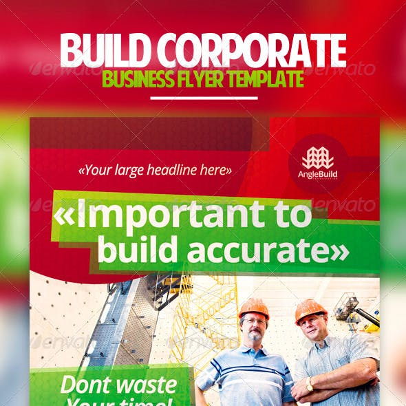 Build Corporate Business Flyer Template