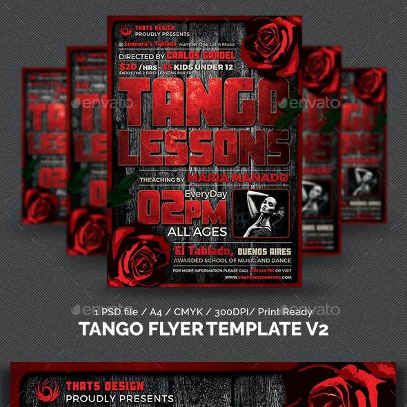 Tango Flyer Template V2