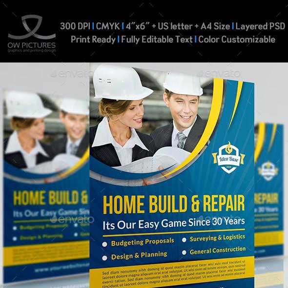 Construction Business Flyer Vol.3