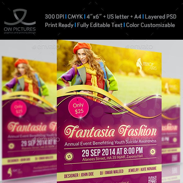 Fashion Flyer Template Vol.2