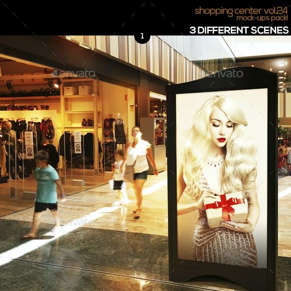 Shopping Center Vol.24 Mock Ups Pack