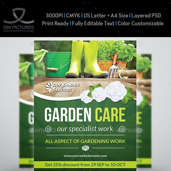 Garden Services Flyer Vol.2