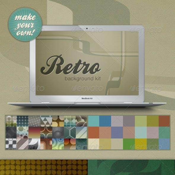 Retro Web Background Kit - Make Your Own!