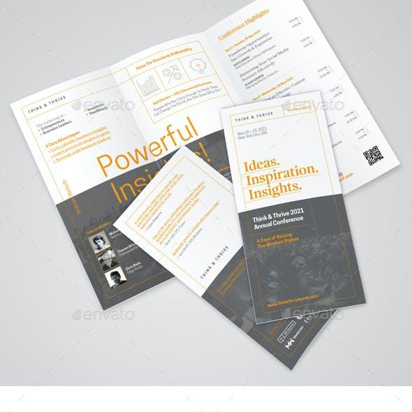 Modern Conference Brochure