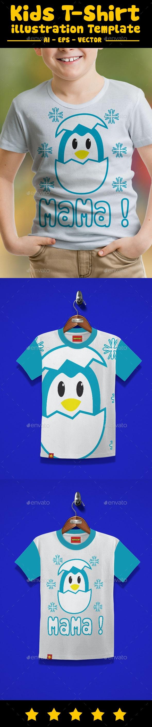 Born Kids T-Shirt Design - T-Shirts