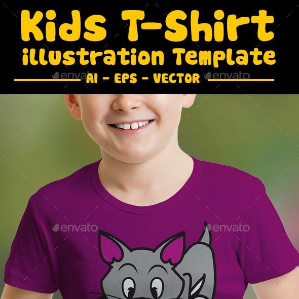 Yarn Ball Kids T-Shirt Design